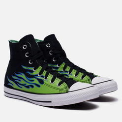 Кеды Converse Chuck Taylor All Star Hi Black/Glow In The Dark