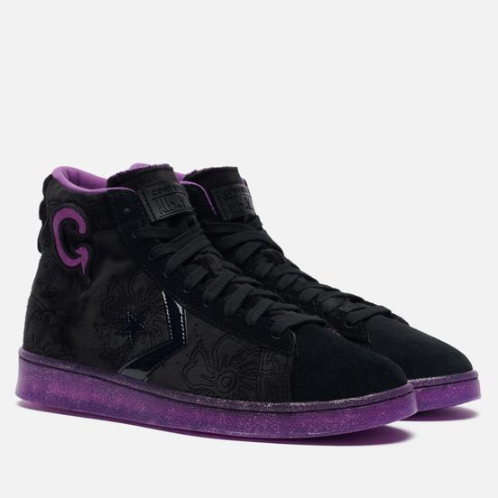 Кеды Converse x Joe Freshgoods Pro Leather High Black/Black/Amaranth Purple