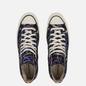 Кеды Converse Chuck 70 Hi Archive Paint Splatter Black/Hyper Magenta/Egret фото - 1