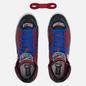 Мужские кеды Converse x Chinatown Market x NBA Pro Leather High Garnet/Black/Hyper Royal фото - 1