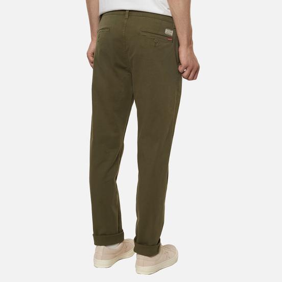Мужские брюки Levi's XX Chino Standard Taper Fit Bunker Olive Green