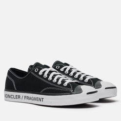 Кеды Converse x Fragment Design x Moncler Jack Purcell Low Black/Black/Egret