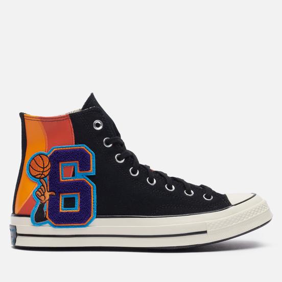 Мужские кеды Converse x Space Jam A New Legacy Chuck 70 Hi Black/Mantra Orange/Multi