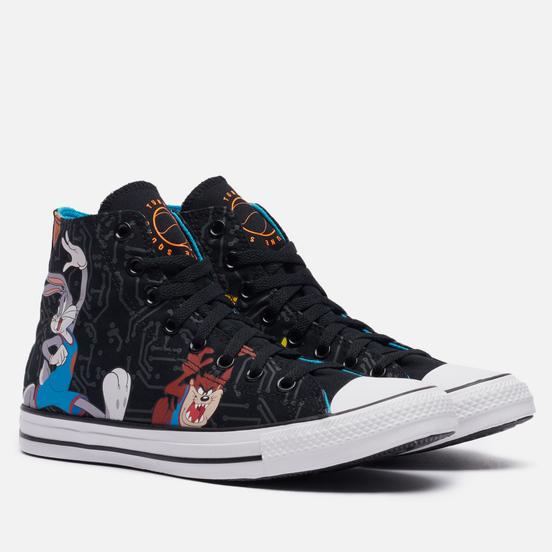 Кеды Converse x Space Jam A New Legacy Chuck Taylor All Star Hi Black/Multi/White