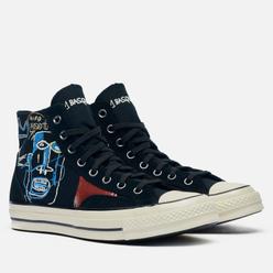 Кеды Converse x Basquiat Chuck 70 Hi Black/Multi/Egret
