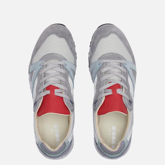 Мужские кроссовки Diadora Heritage N.9000 ITA Aluminium/White