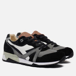 Мужские кроссовки Diadora Heritage N.9000 ITA Black/Charcoal Gray/White