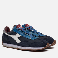 Мужские кроссовки Diadora Heritage Equipe Dirty Stone Wash Blue Atlantic