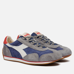 Мужские кроссовки Diadora Heritage Equipe Suede Stone Wash Night Blue