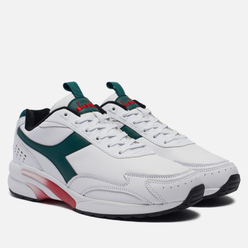 Кроссовки Diadora Distance 280 Leather White/Green/Evergreen