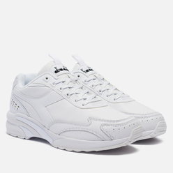 Кроссовки Diadora Distance 280 Leather White/White/White