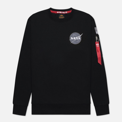 Мужская толстовка Alpha Industries Nasa Space Shuttle Black