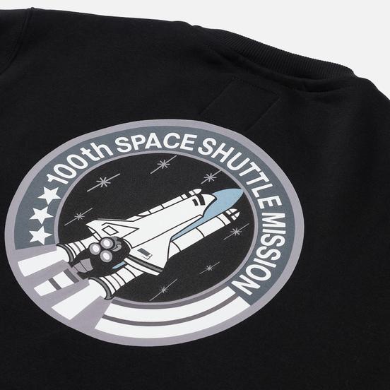 Мужская толстовка Alpha Industries NASA Space Shuttle Black