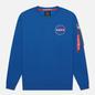 Мужская толстовка Alpha Industries NASA Space Shuttle NASA Blue фото - 0