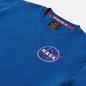 Мужская толстовка Alpha Industries NASA Space Shuttle NASA Blue фото - 1
