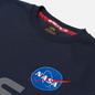 Мужская толстовка Alpha Industries NASA Reflective Replica Blue фото - 1
