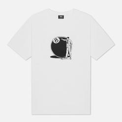Мужская футболка Stussy 8 Ball Man White