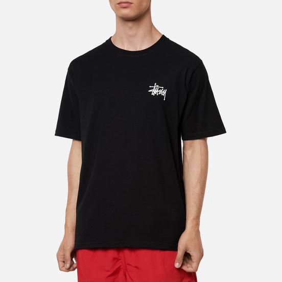 Мужская футболка Stussy Basic Black/White