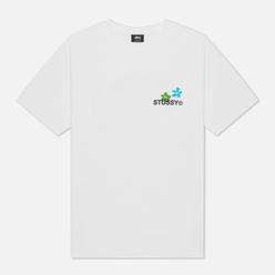 Мужская футболка Stussy City Flowers White