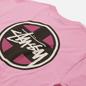 Мужская футболка Stussy Cross Dot Pink фото - 2