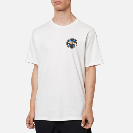 Мужская футболка Stussy Cross Dot White