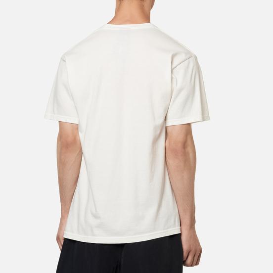 Мужская футболка Stussy Basic Logo Pigment Dyed Natural