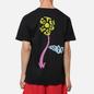 Мужская футболка Stussy Sprout Pigment Dyed Black фото - 4