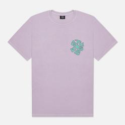 Мужская футболка Stussy Sprout Pigment Dyed Lavender