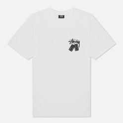 Мужская футболка Stussy Dominoes White