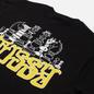 Мужская футболка Stussy Gambit Black фото - 1