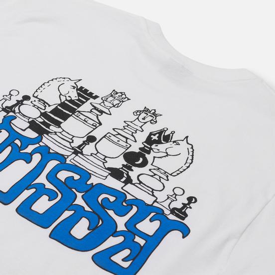 Мужская футболка Stussy Gambit White