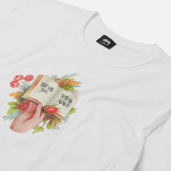 Мужская футболка Stussy Handbook White