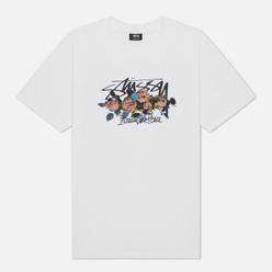 Мужская футболка Stussy ITP Roses White