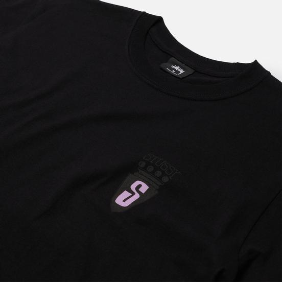 Мужская футболка Stussy S Crest Black