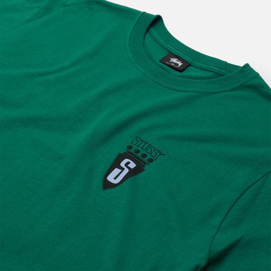 Мужская футболка Stussy S Crest Dark Green