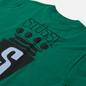 Мужская футболка Stussy S Crest Dark Green фото - 2