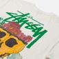 Мужская футболка Stussy Smokin Skull Pigment Dyed Natural фото - 2
