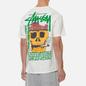 Мужская футболка Stussy Smokin Skull Pigment Dyed Natural фото - 4