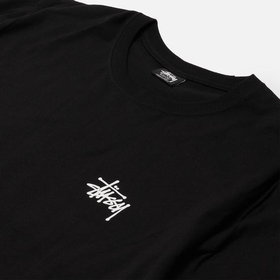 Мужская футболка Stussy SS Basic Stussy Black