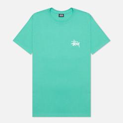Мужская футболка Stussy SS Basic Stussy Green