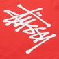 Мужская футболка Stussy SS Basic Stussy Red фото - 2