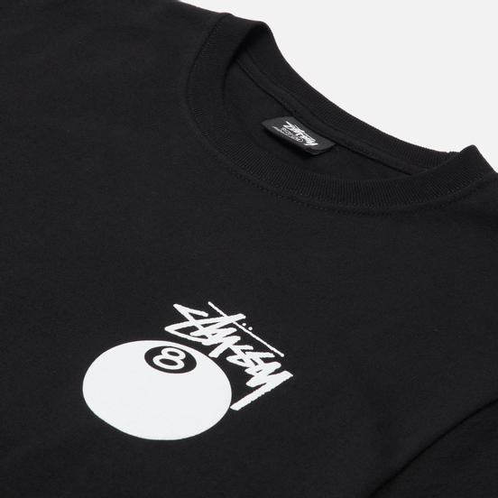 Мужская футболка Stussy 8 Ball Graphic Art Black