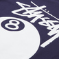Мужская футболка Stussy 8 Ball Graphic Art Navy фото - 2