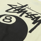 Мужская футболка Stussy 8 Ball Graphic Art Pale Yellow фото - 2