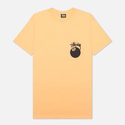 Мужская футболка Stussy 8 Ball Graphic Art Peach