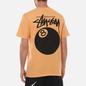 Мужская футболка Stussy 8 Ball Graphic Art Peach фото - 4