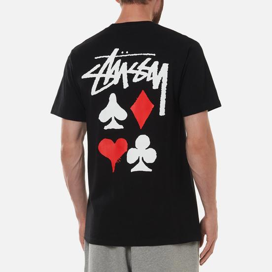 Мужская футболка Stussy Full Deck 2 Black