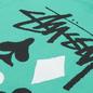 Мужская футболка Stussy Full Deck 2 Green фото - 2