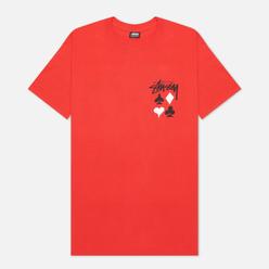 Мужская футболка Stussy Full Deck 2 Red