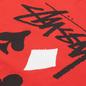 Мужская футболка Stussy Full Deck 2 Red фото - 2
